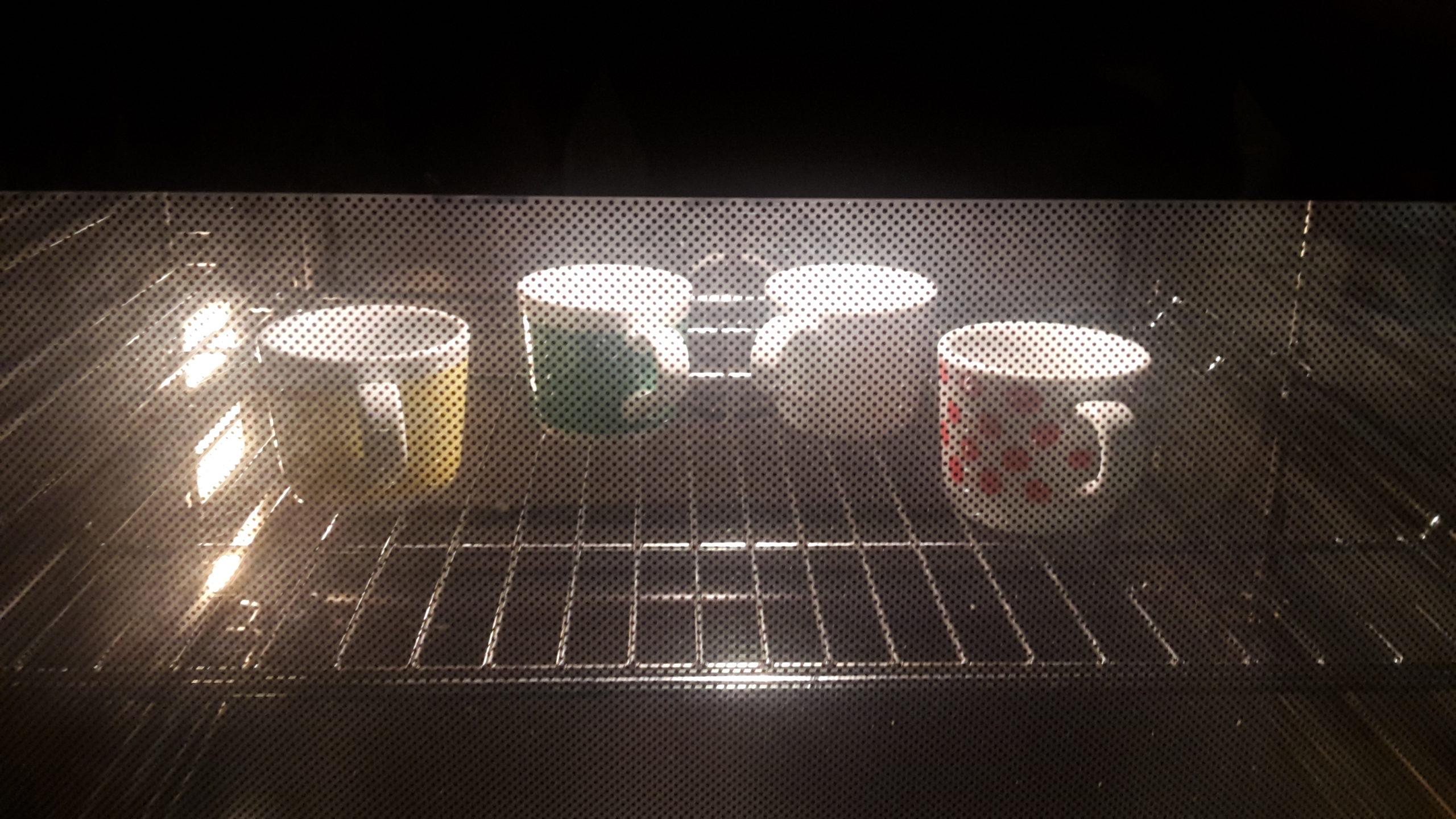 hand painted mugs baking