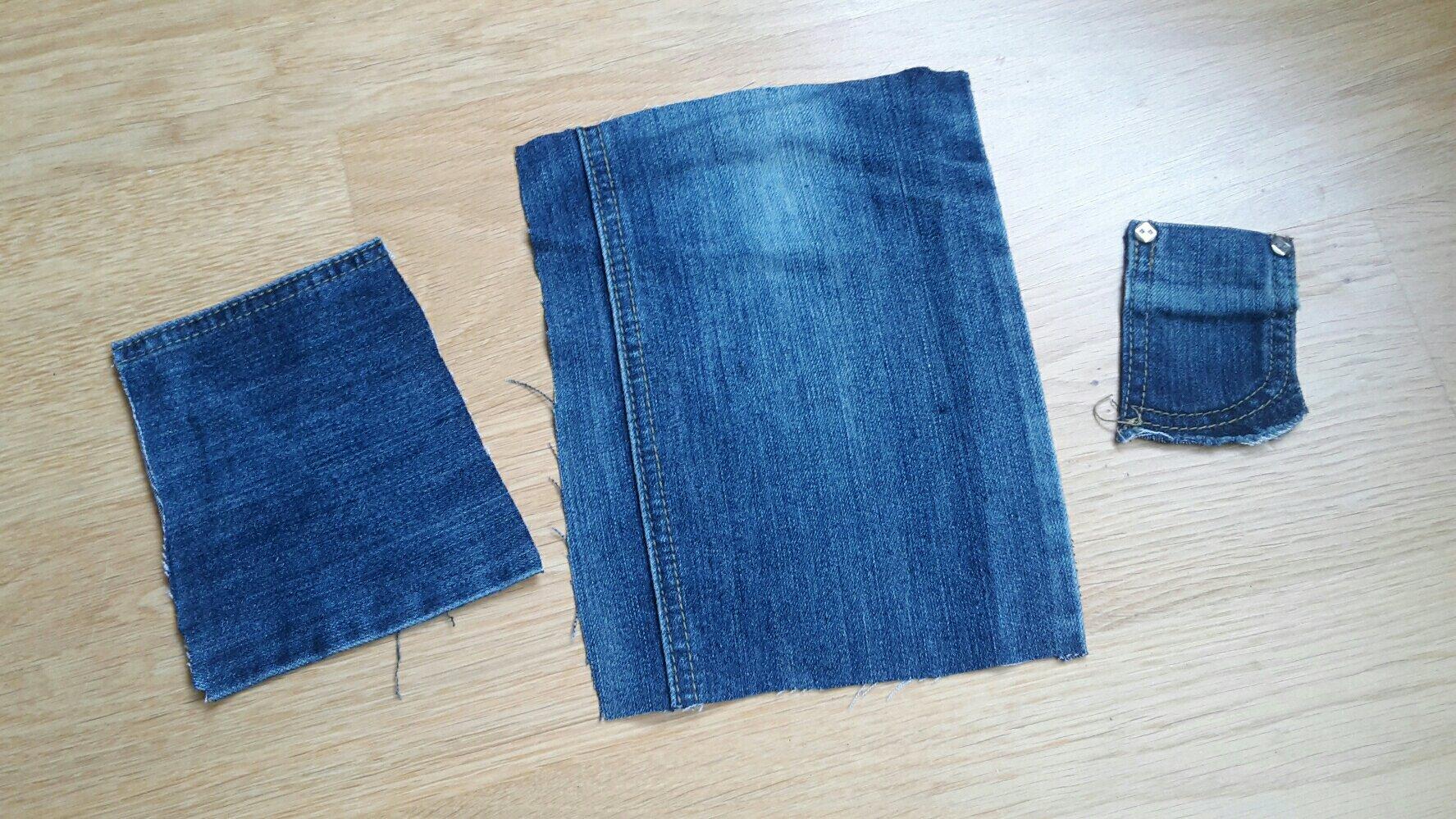 jeans cutlery bag prepare
