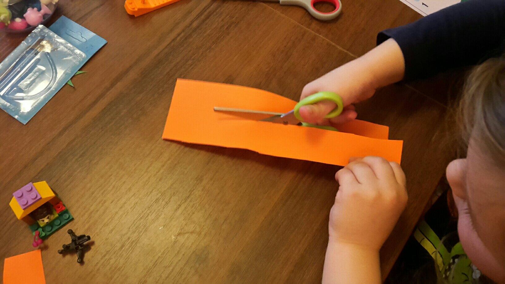 paper pumpkin little cutter