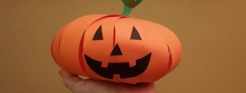 paper pumpkin ready face