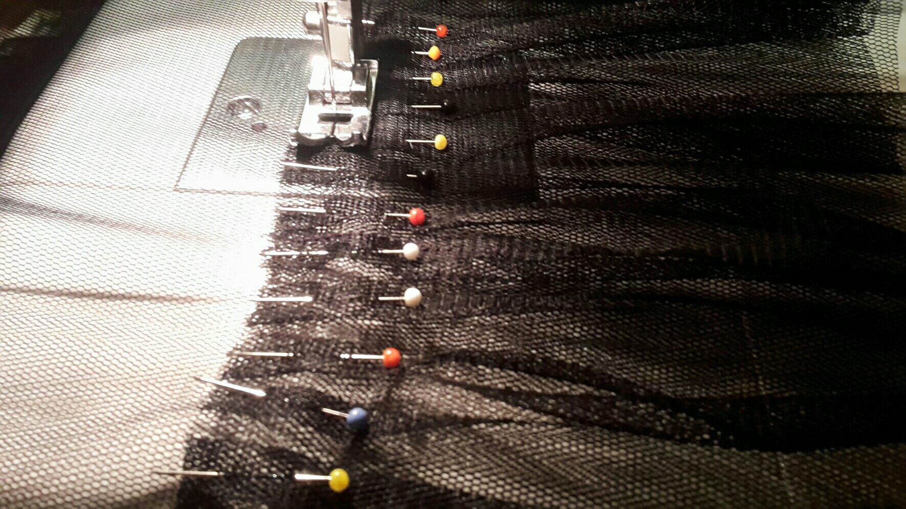 petticoat pinned layer