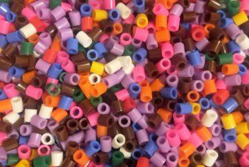 hama beads background