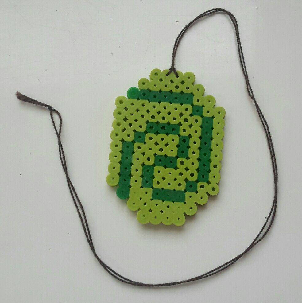 hama beads moana vaiana heart te fiti