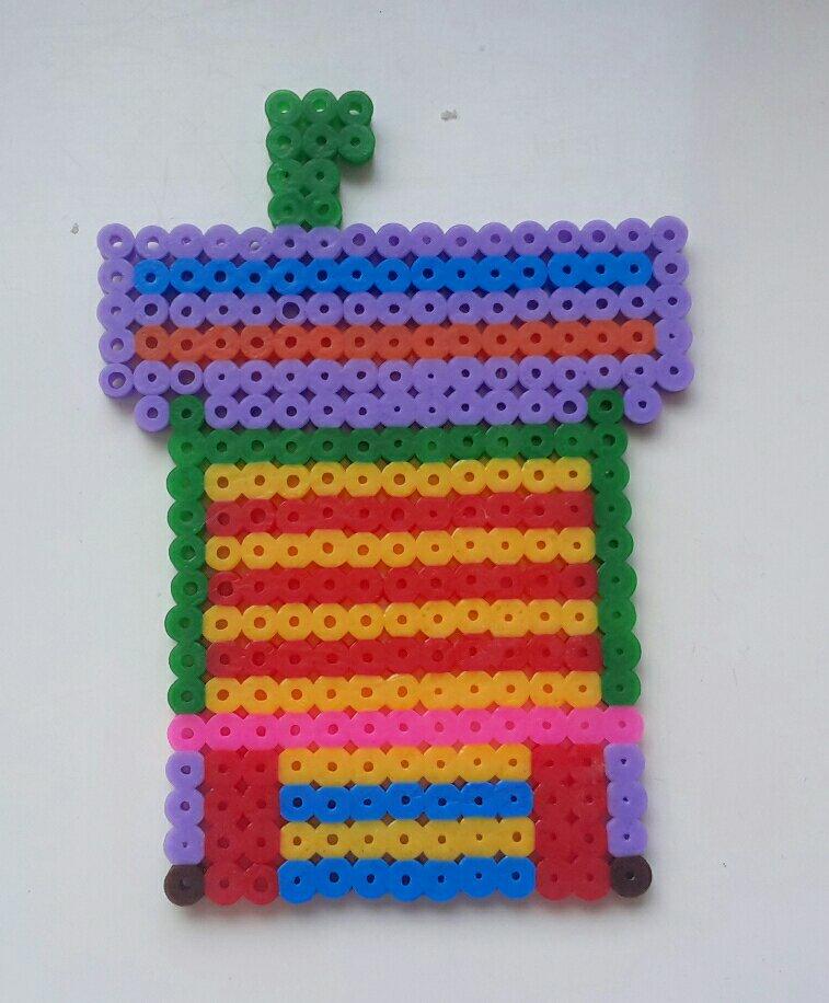 hama beads paw patrol base