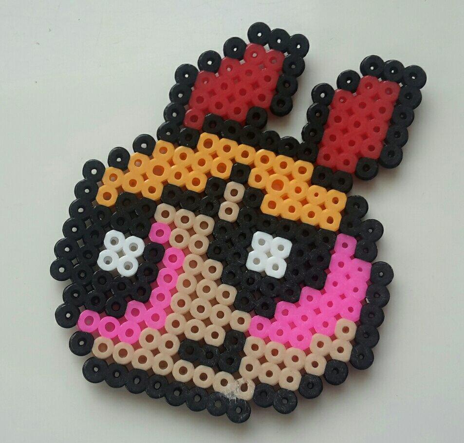 hama beads powerpuff girls blossom