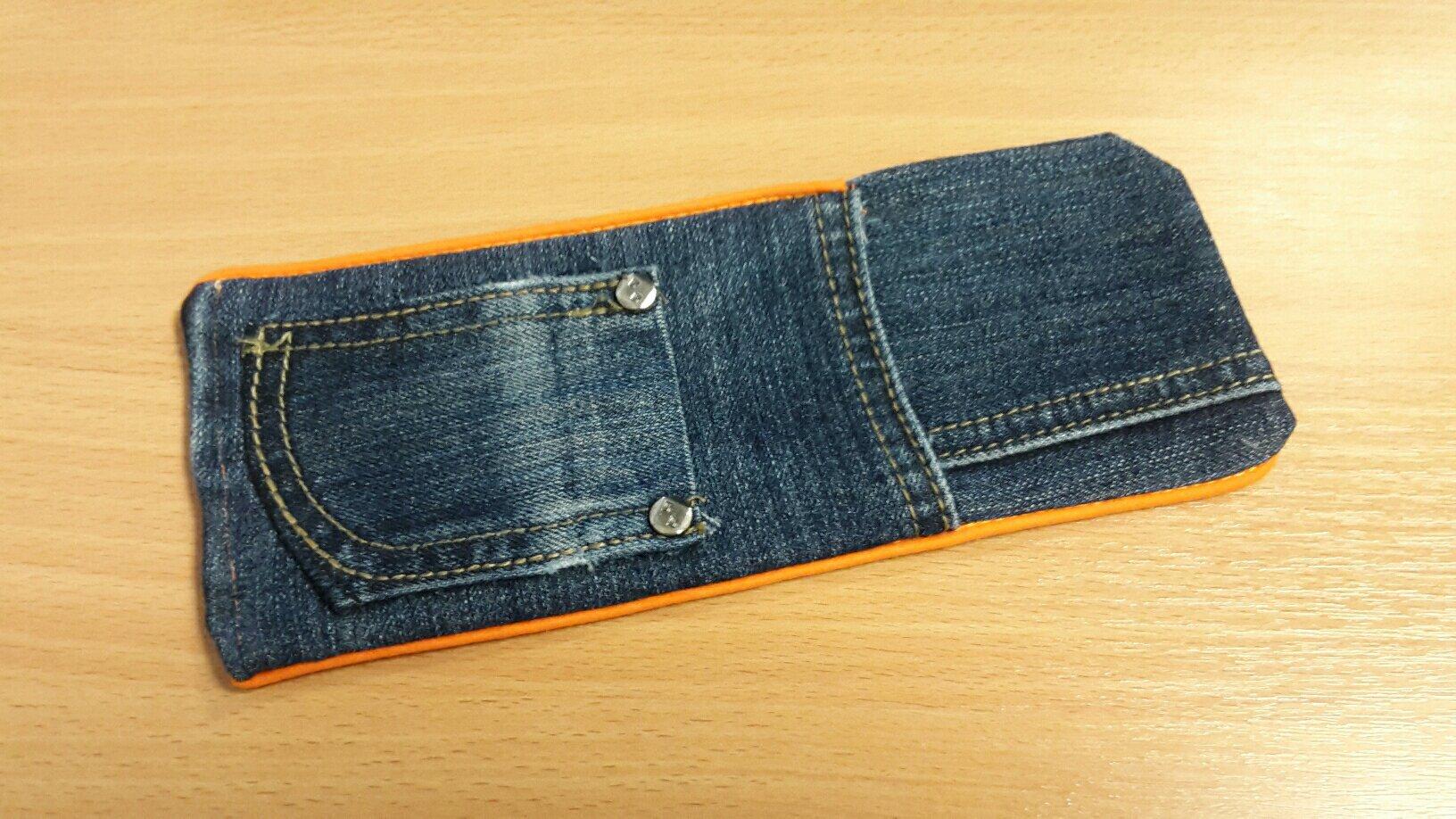 jeans cutlery bag ready