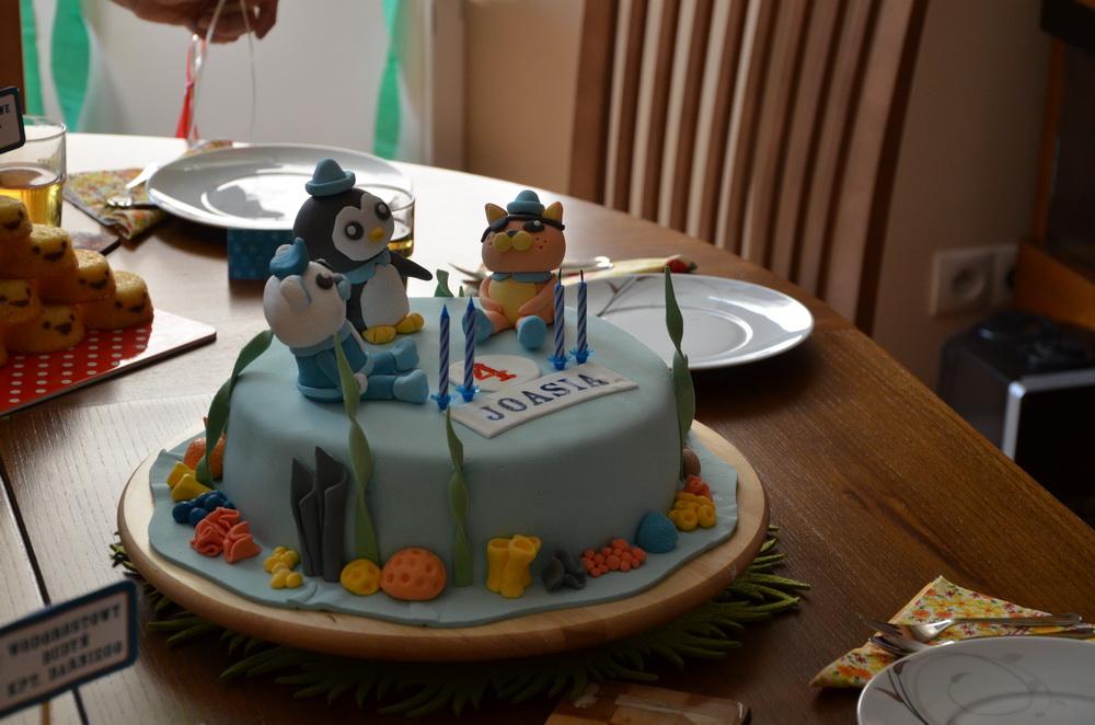 octonauts birthday cake featured