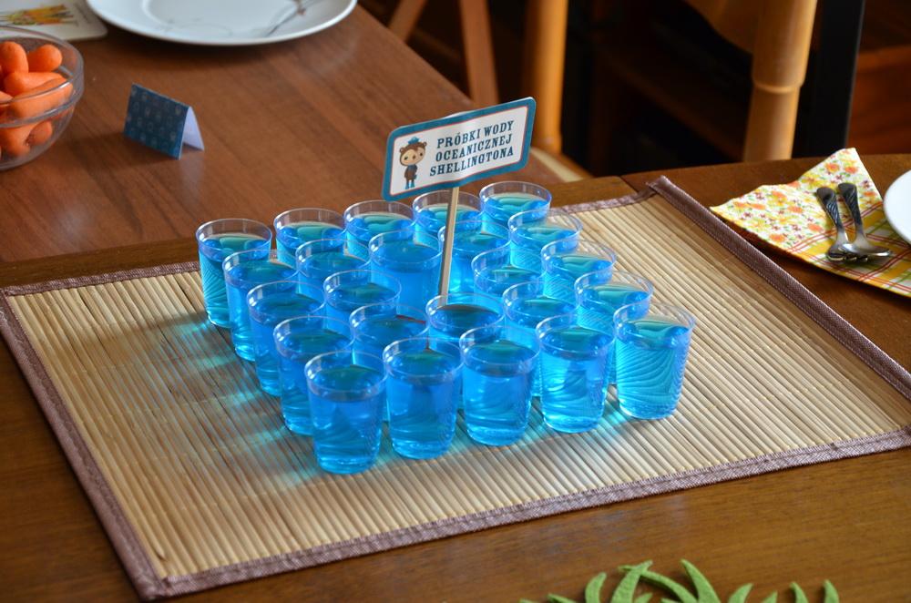 octonauts birthday party food ideas shellington blue jelly