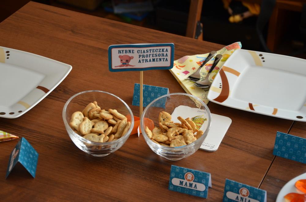 octonauts birthday inkling fish biscuits