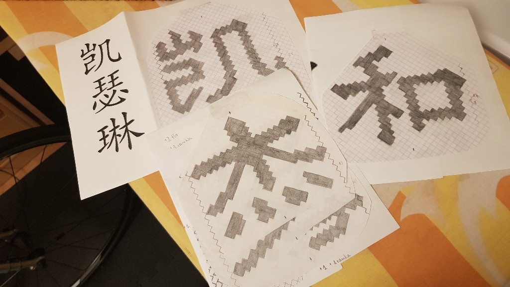 woven names japanese project