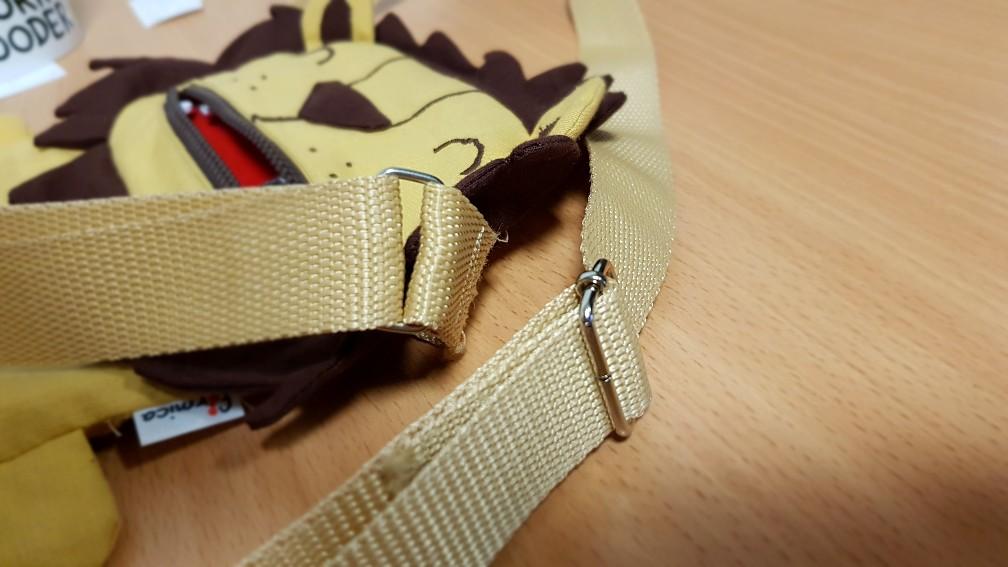 lion bag strap