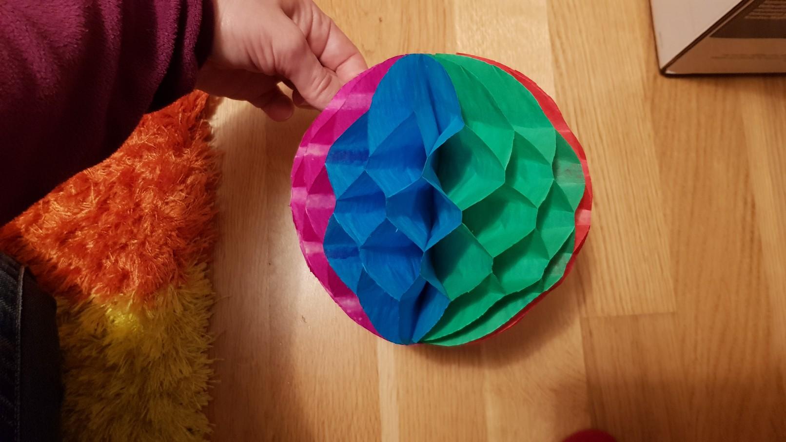 honeycomb ball full