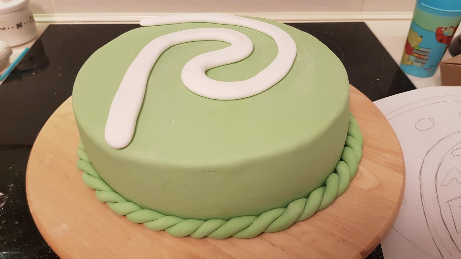 moana vaiana birthday cake step 3