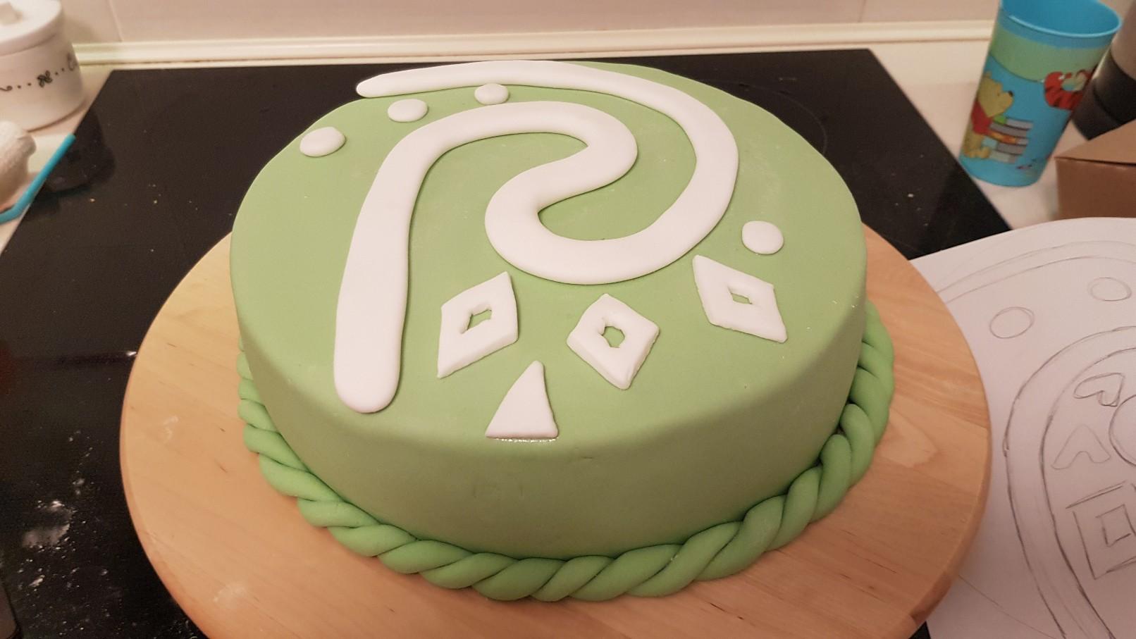 moana vaiana birthday cake step 5
