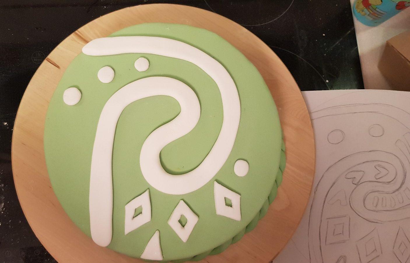 moana vaiana birthday cake step 6