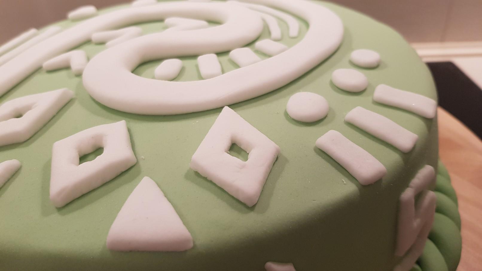 moana vaiana birthday cake step detail