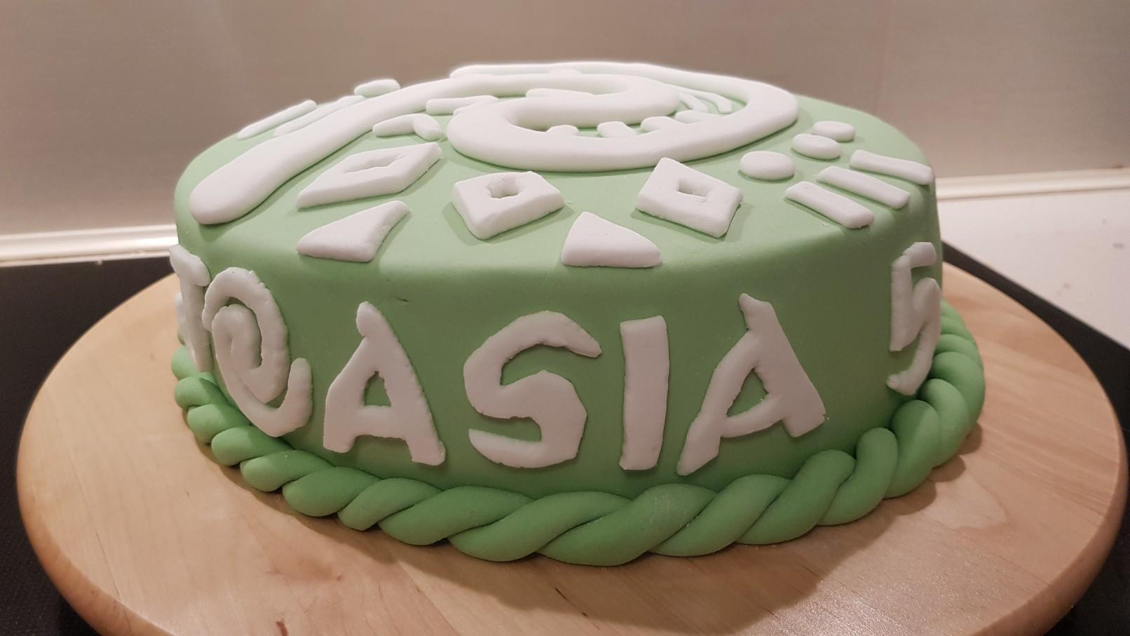 moana vaiana birthday cake step sign
