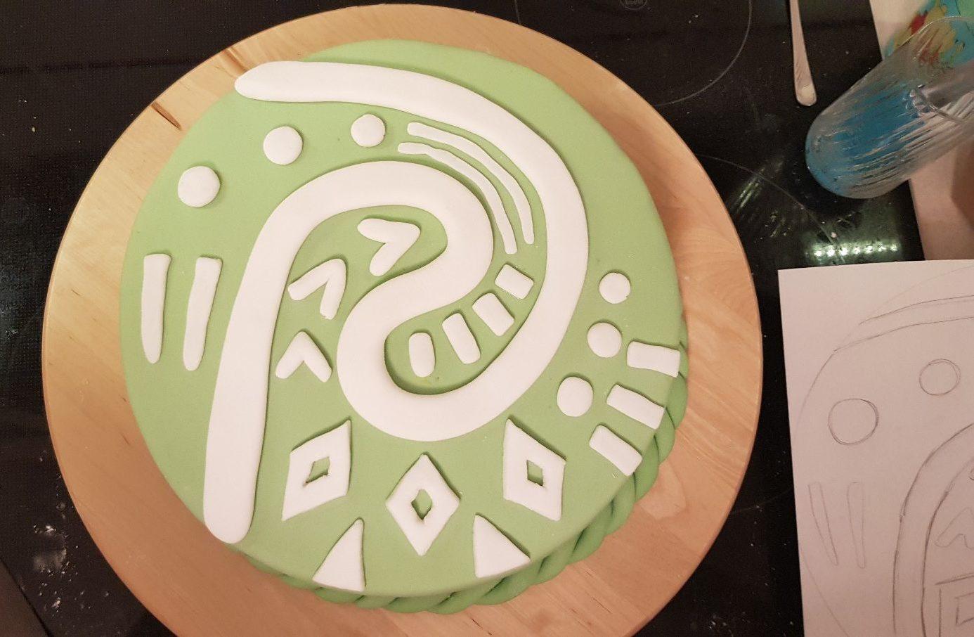 moana vaiana birthday cake step ten