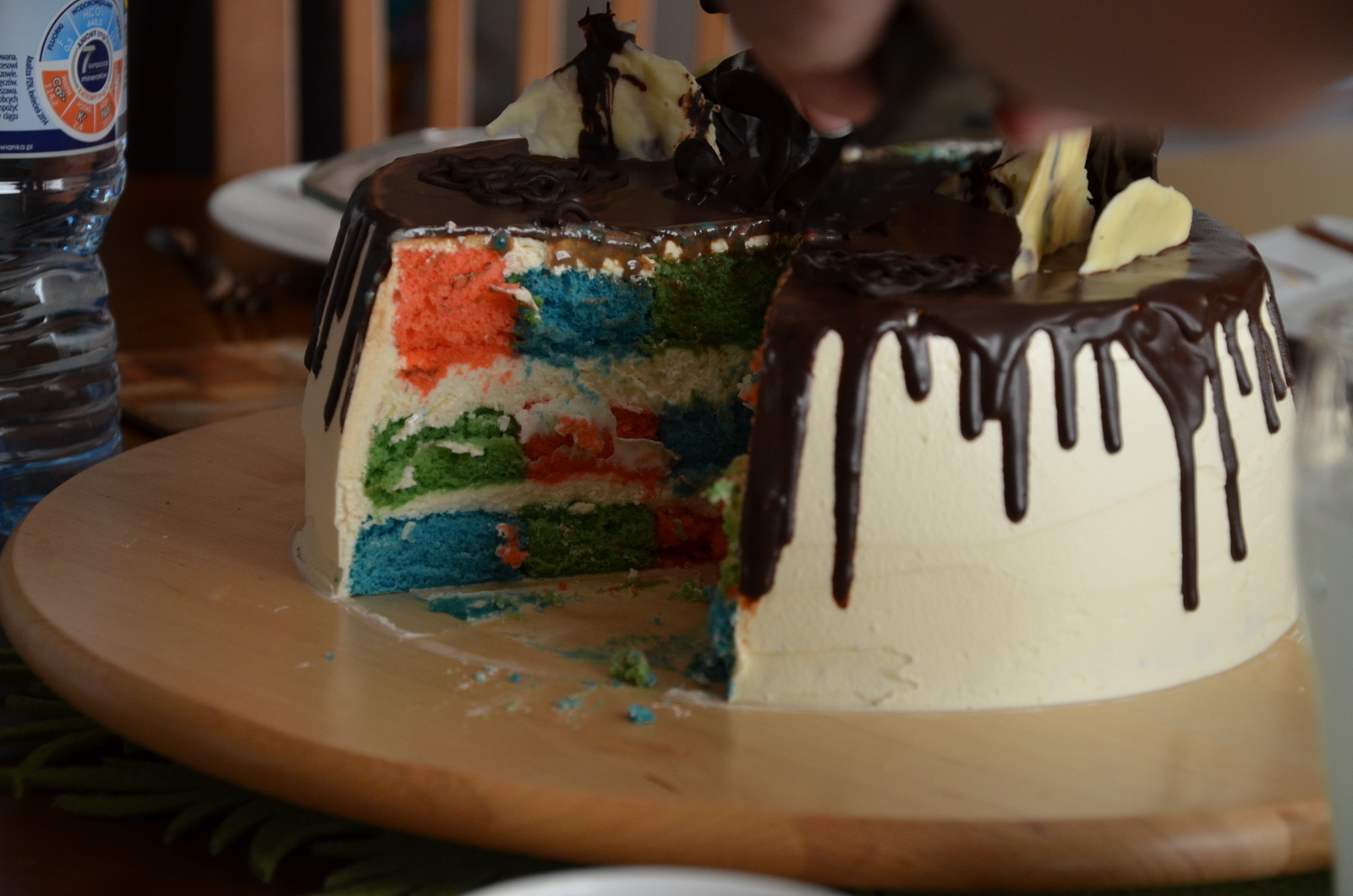 checkerboard cake featured