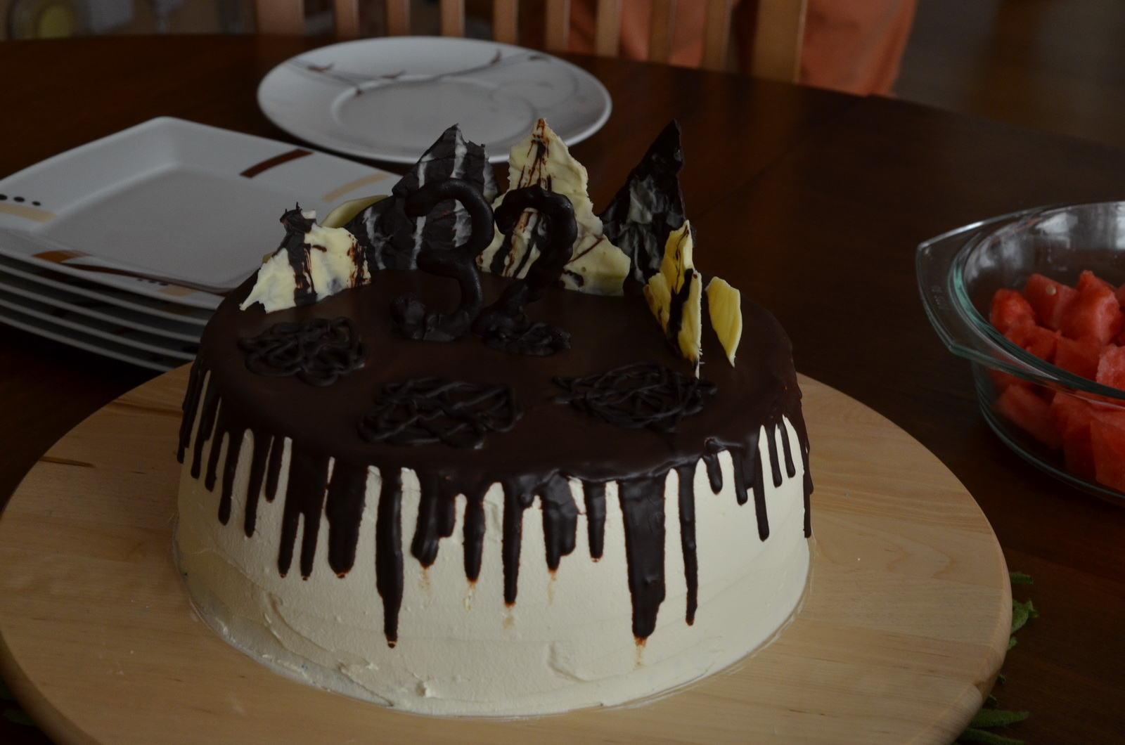 checkerboard drip cake final 2