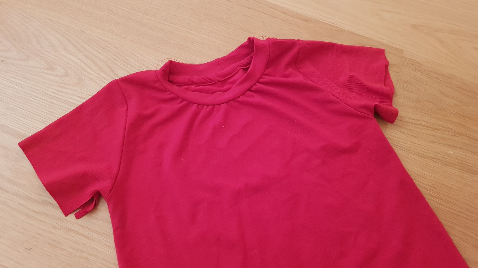 red tshirt top