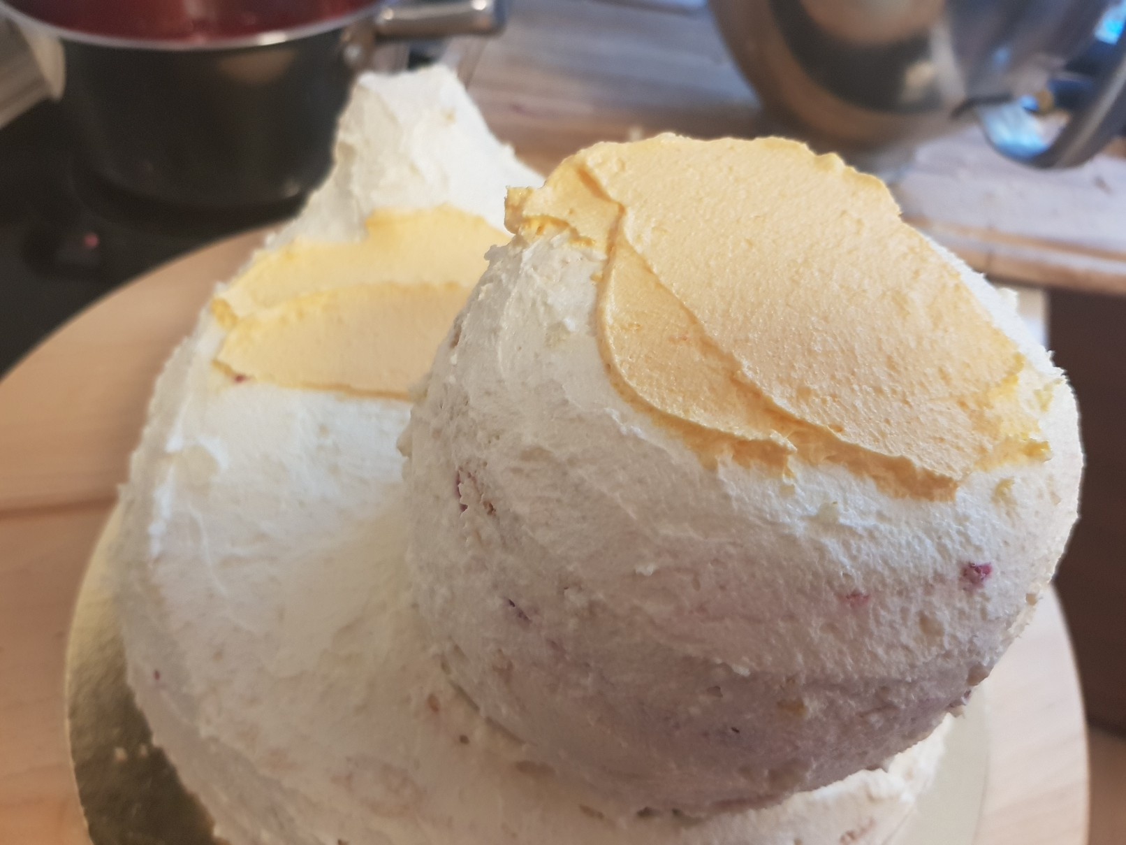 duckie birthday cake body pudding cream head