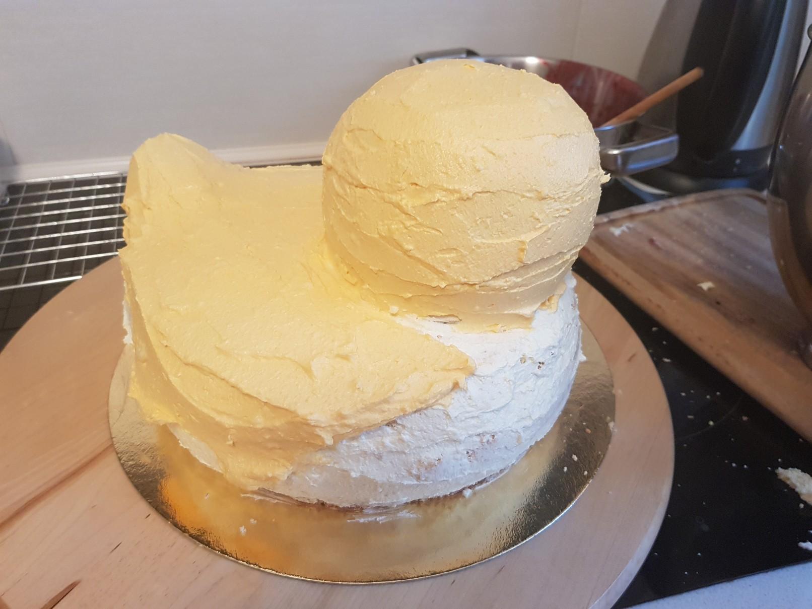 duckie birthday cake body pudding cream