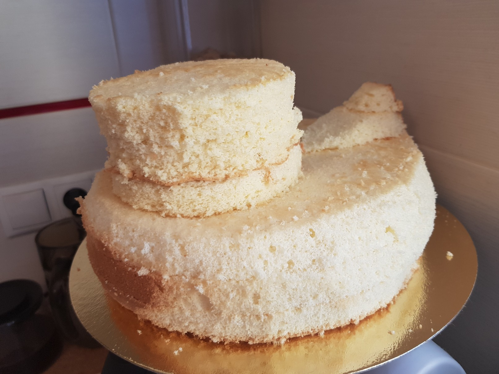 duckie birthday cake sponge head prepare
