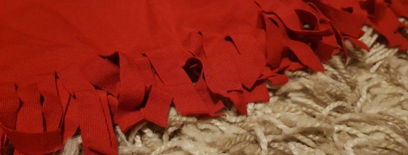 red tshirt fringes