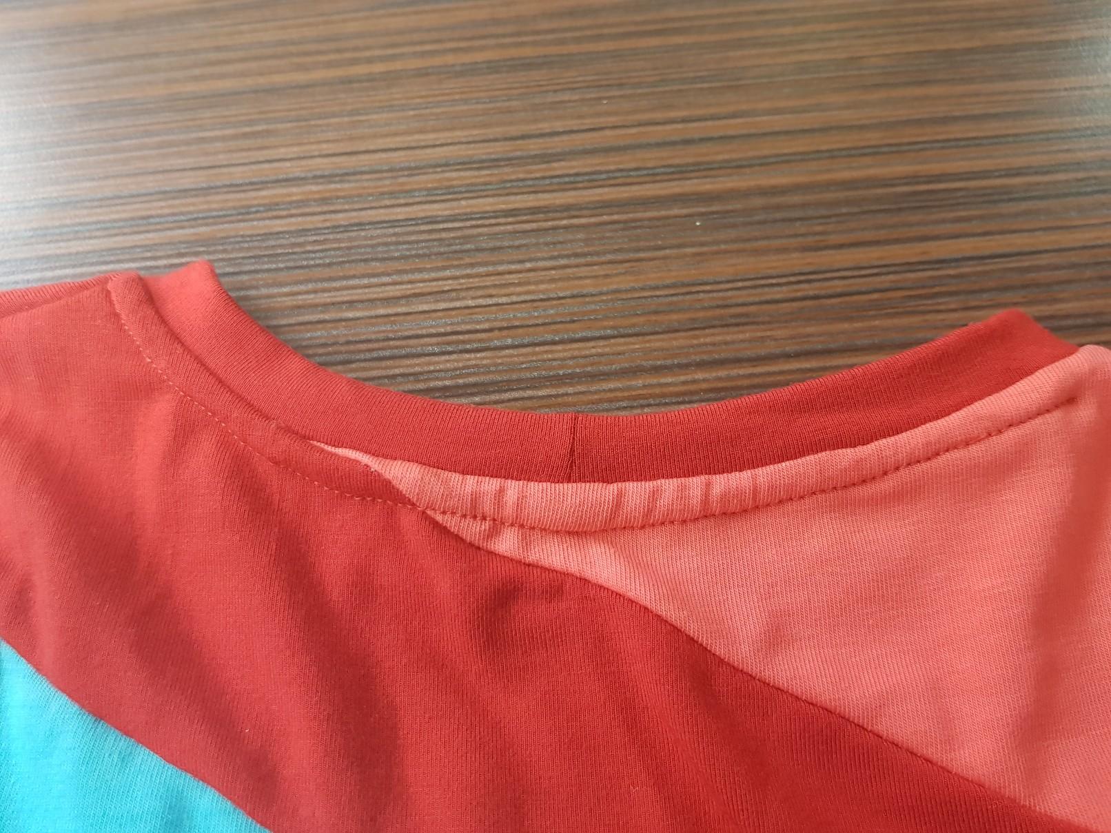 crazy jersey dress collar back