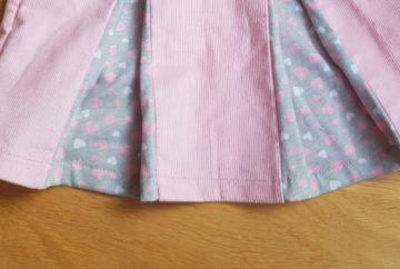 corduroy skirt pleats featured
