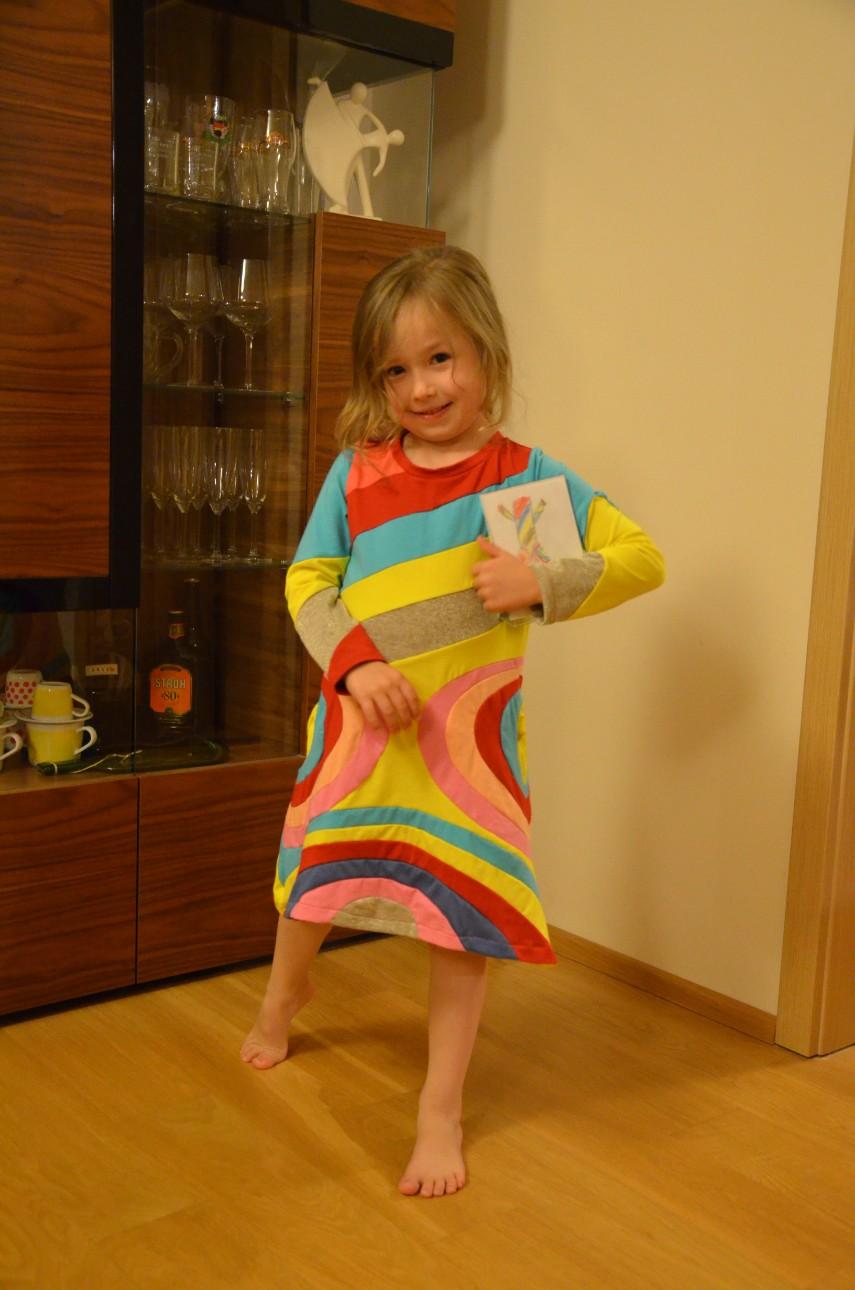 crazy jersey dress designer project