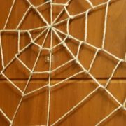 halloween spiders web on the door featured