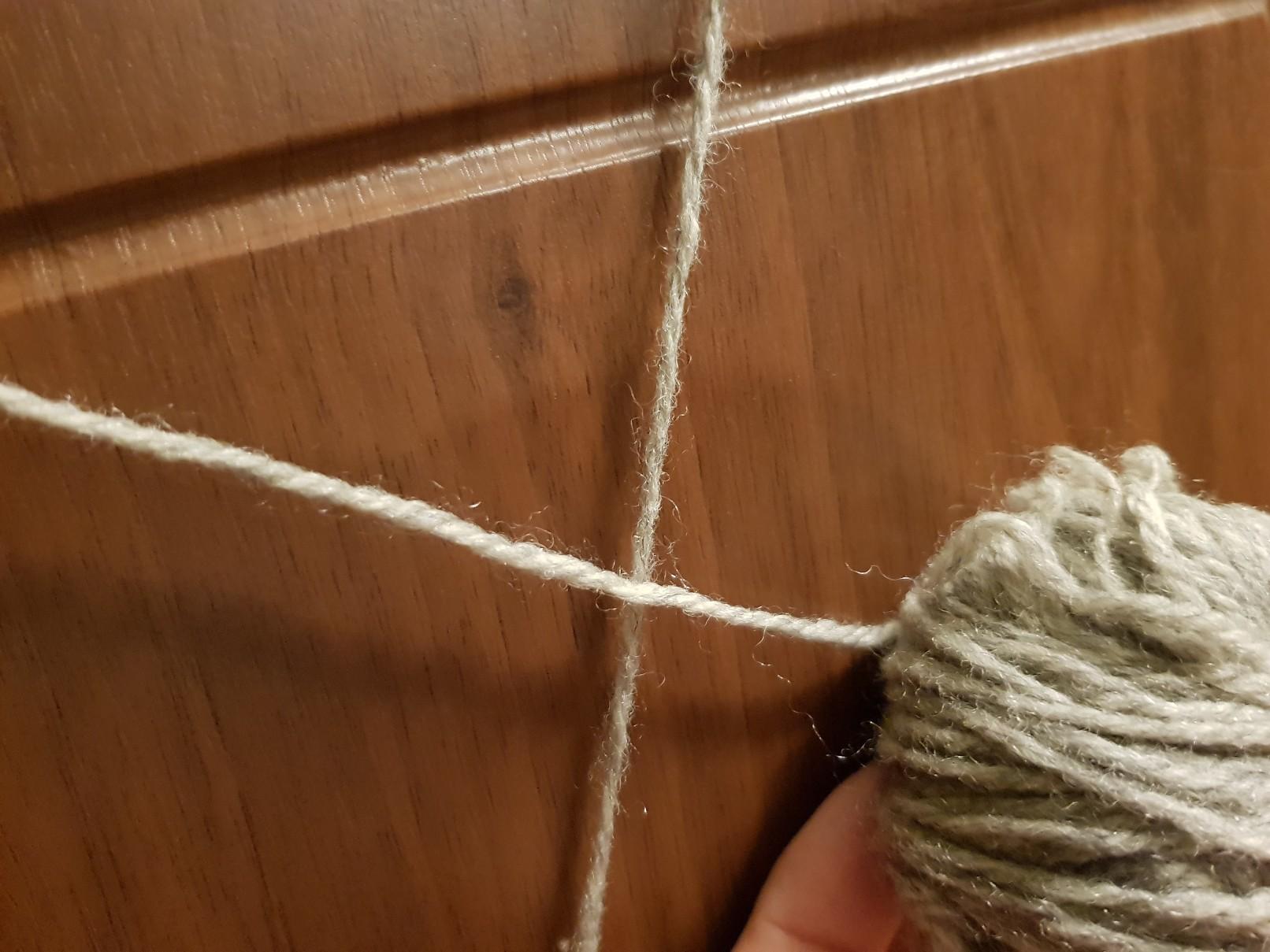 halloween spiders web on the door weave 1