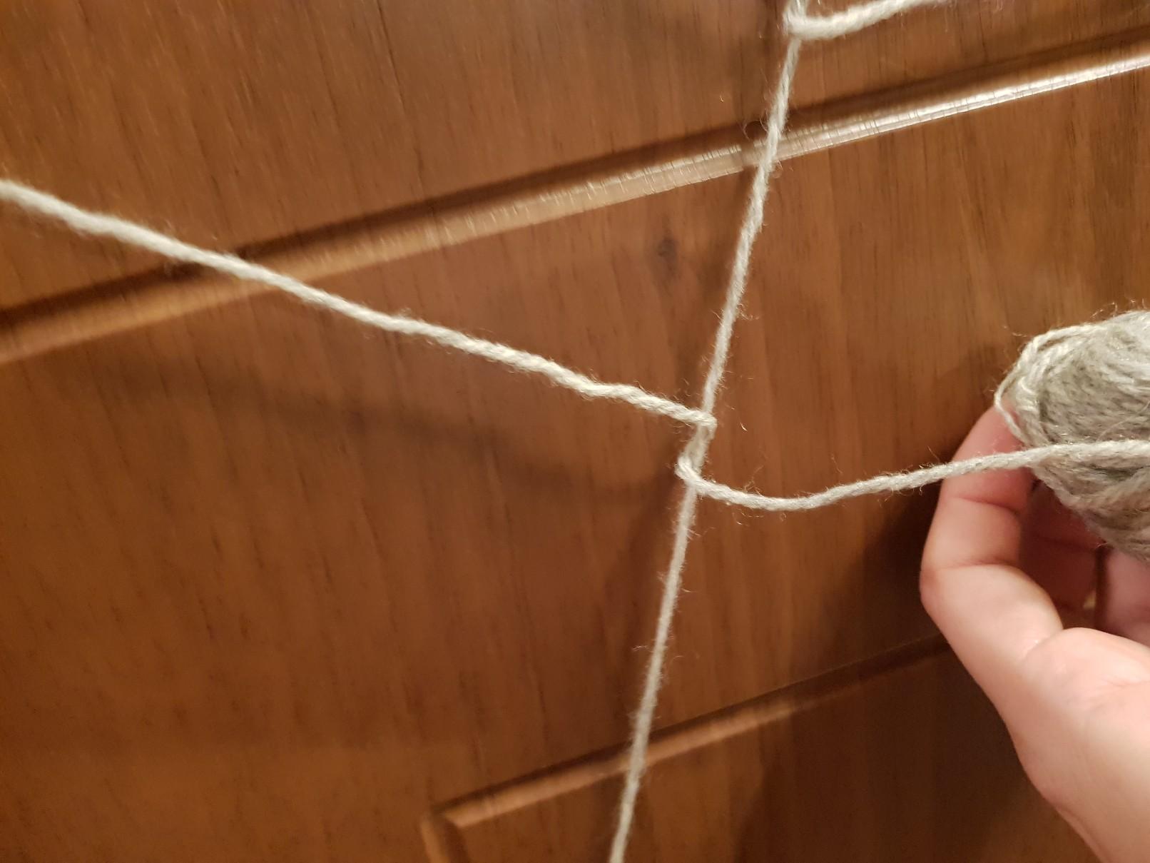 halloween spiders web on the door weave 3