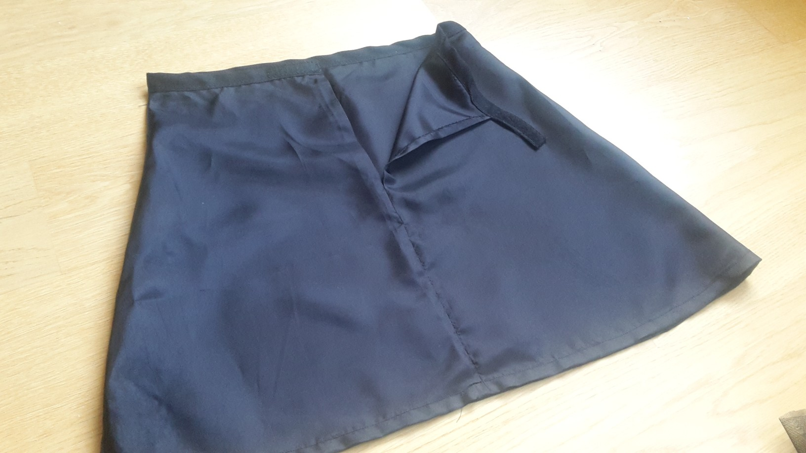 petticoat black after sewing
