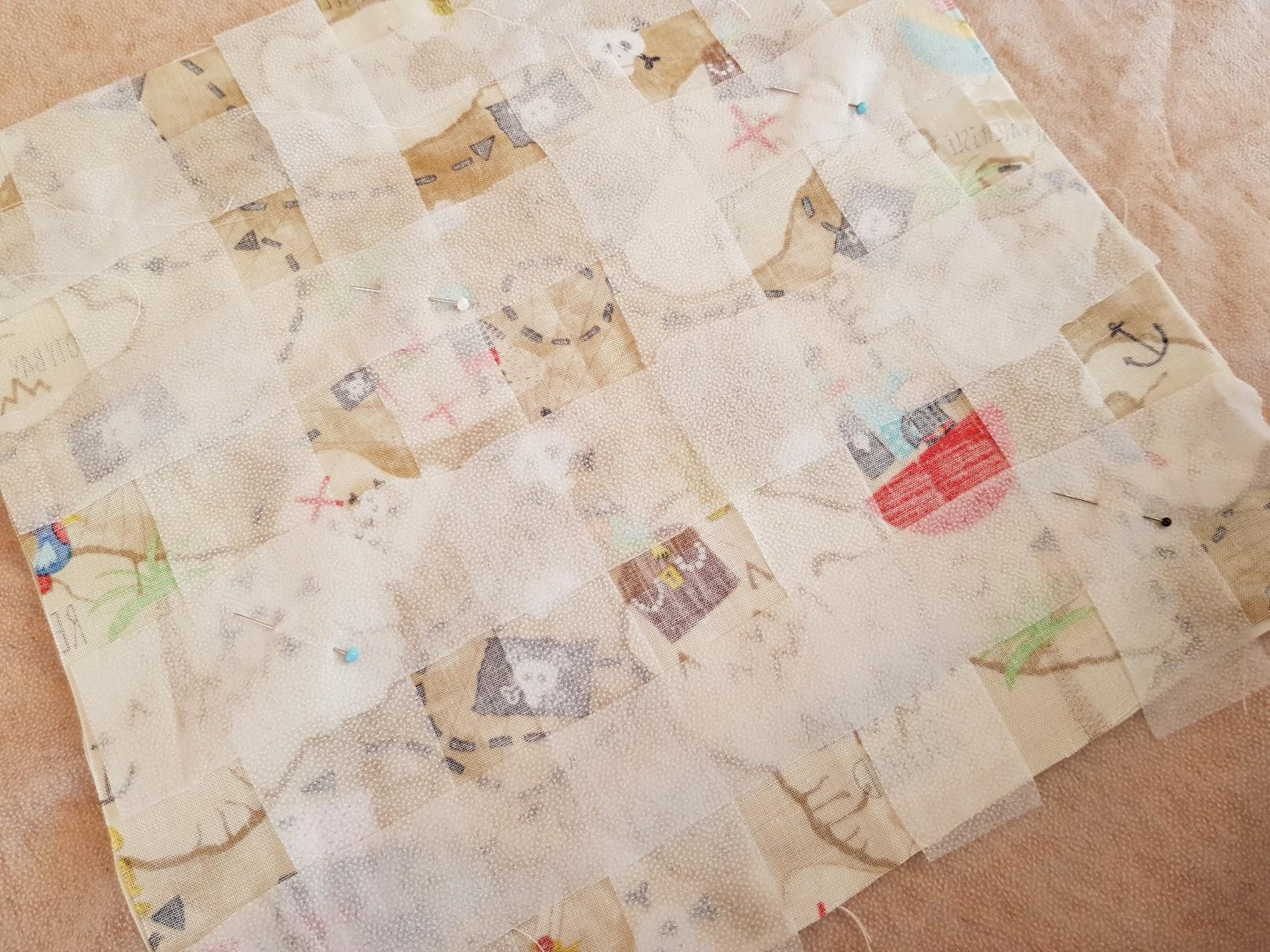 pirate map glue weave