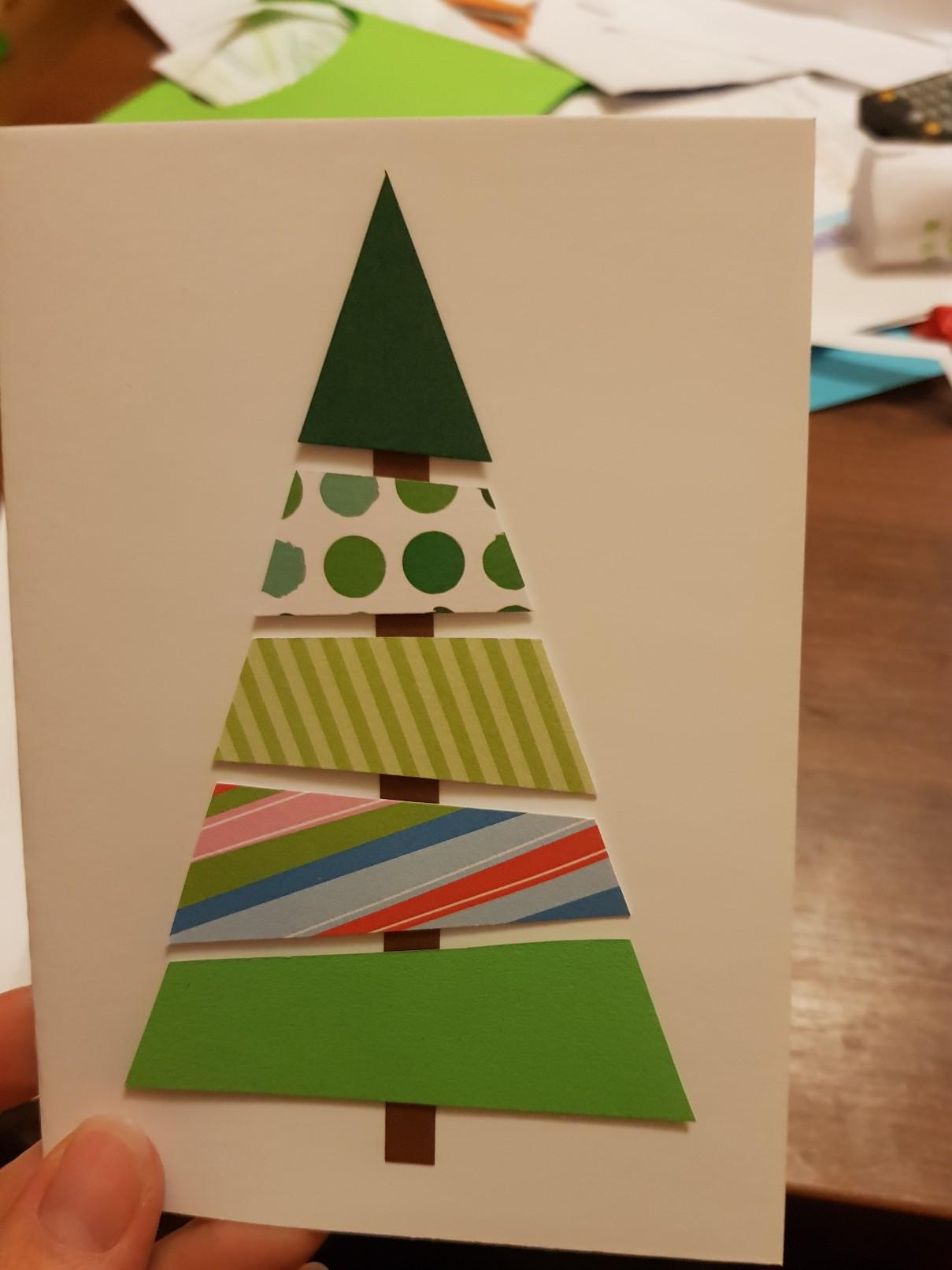 christmas card 2018 tree