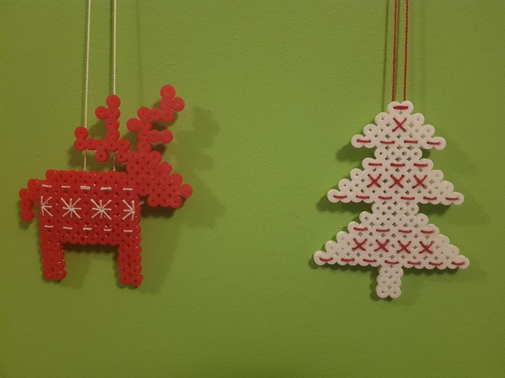 hama beads christmas scandinavian