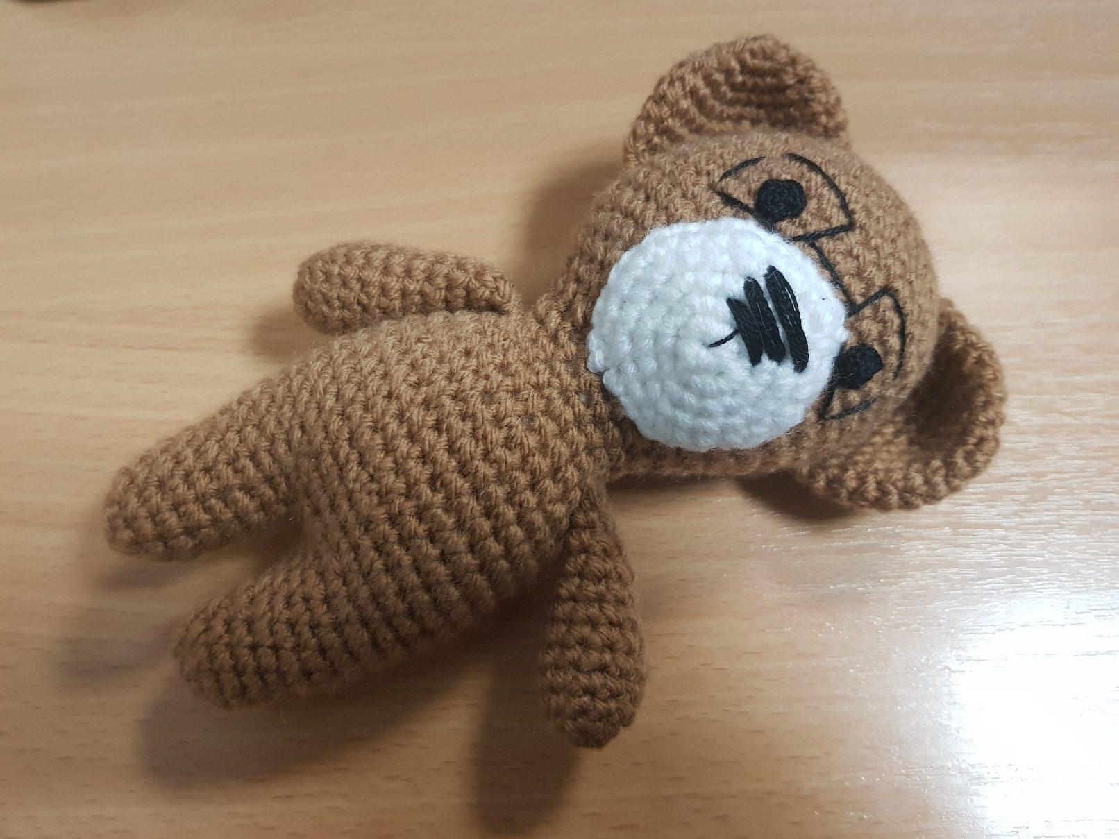 amigurumi crochet bear final