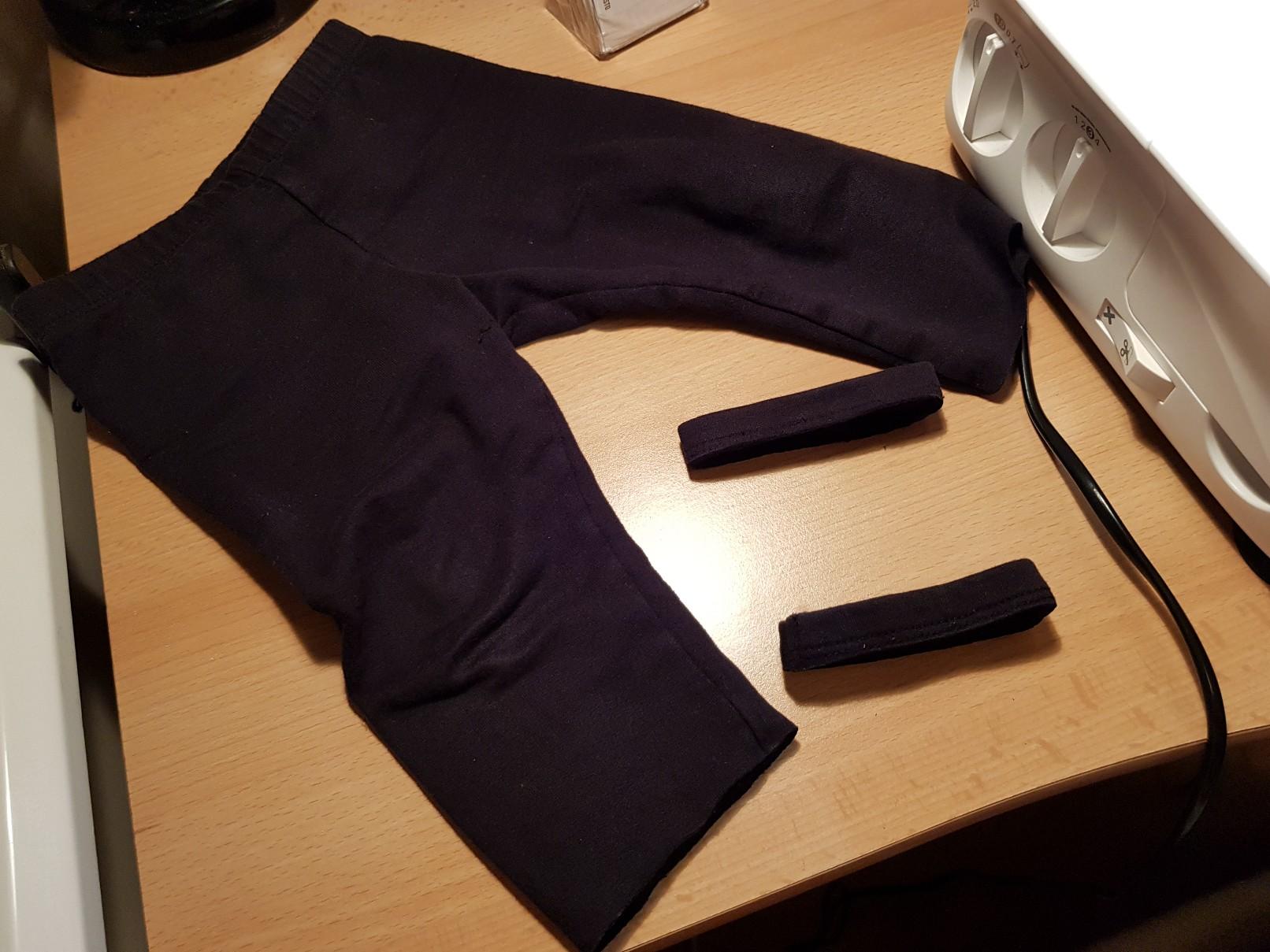 lengthened leggings prepare