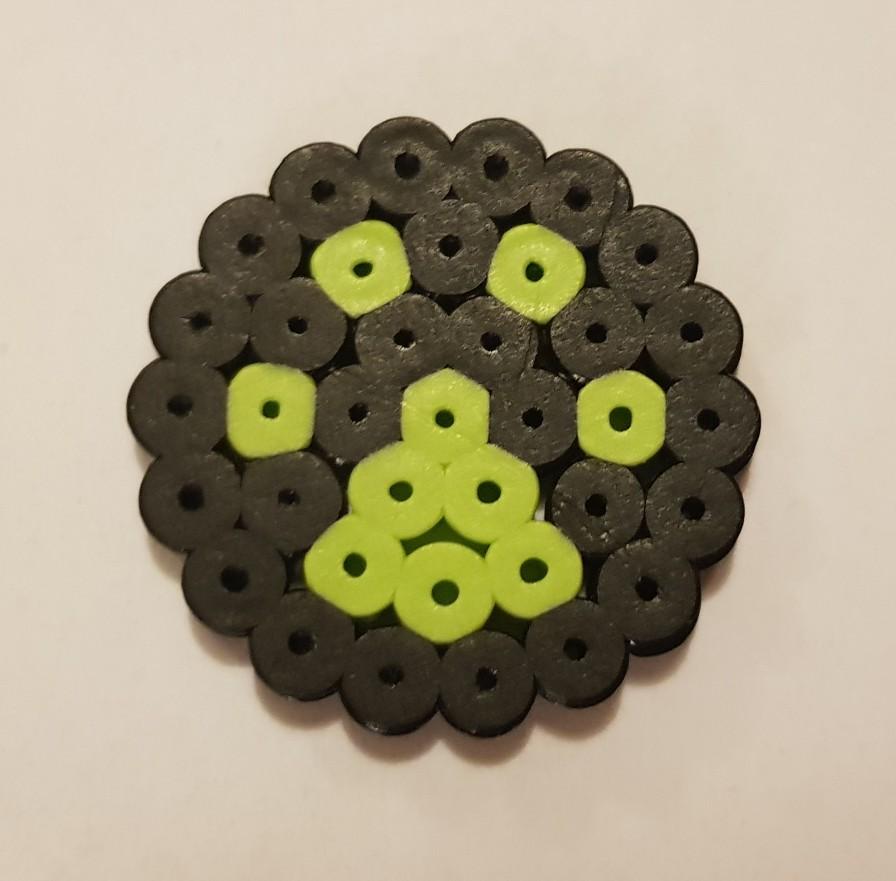 miraculous ladybug chat noir hama beads cat