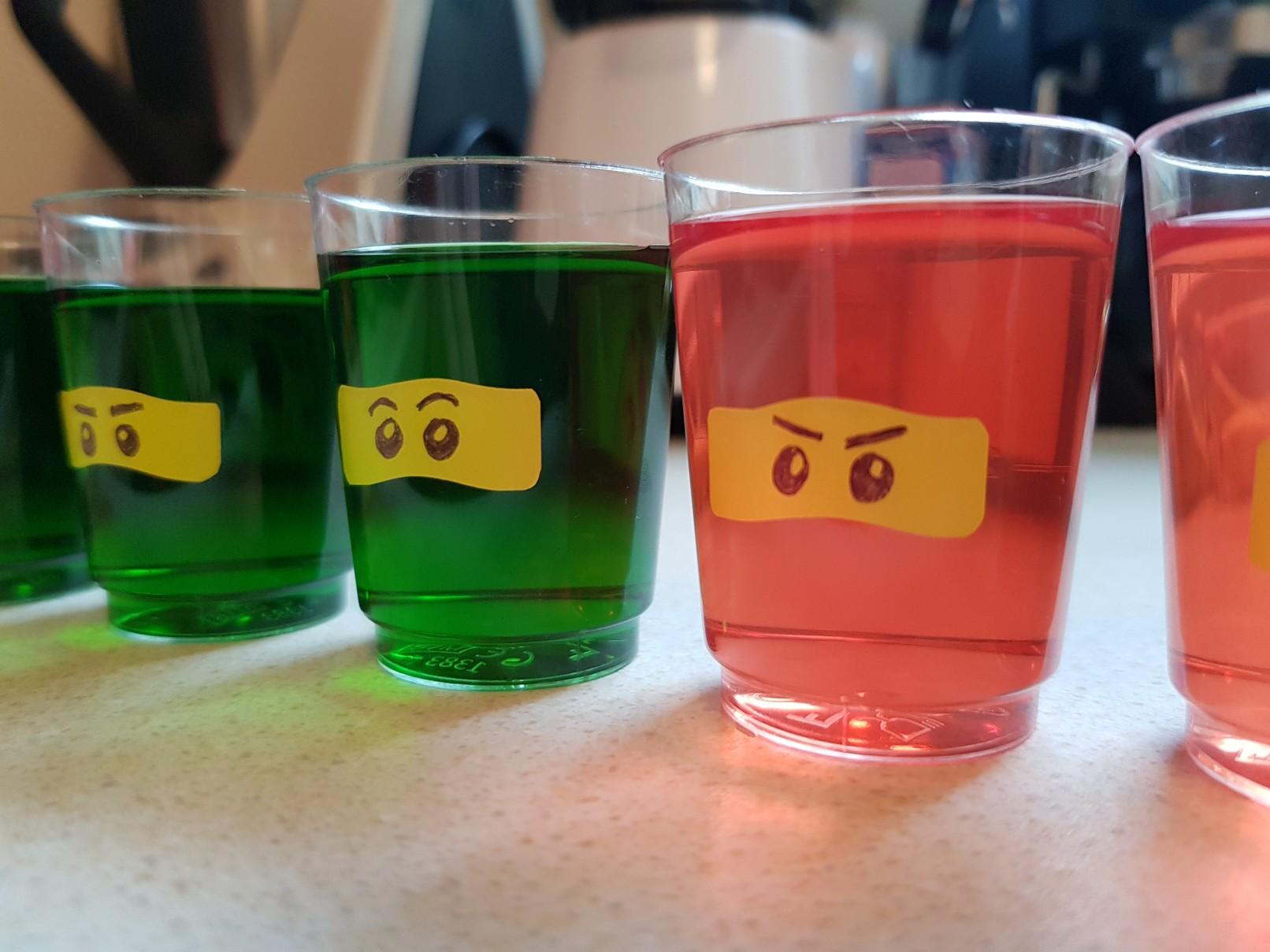 lego ninjago birthday party food ideas jelly ninja eyes
