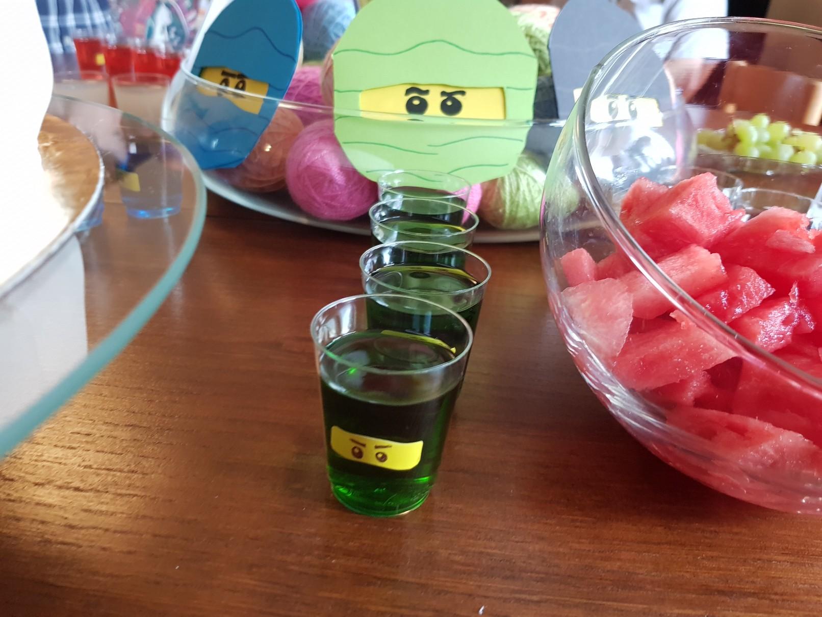 lego ninjago birthday party food ideas