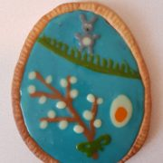 easter mazurek cake 2019 rabbit