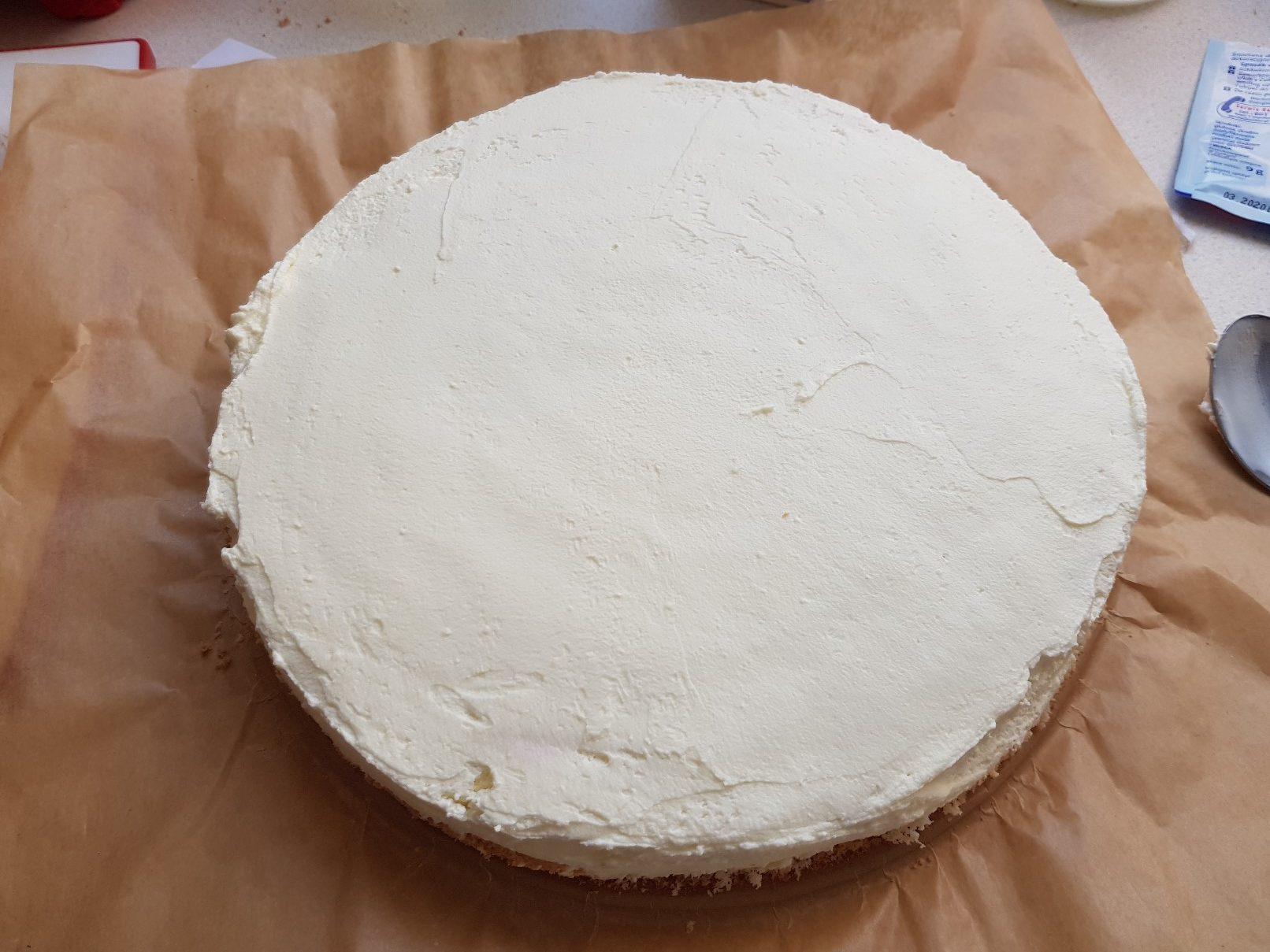 space birthday cake cream filling 3