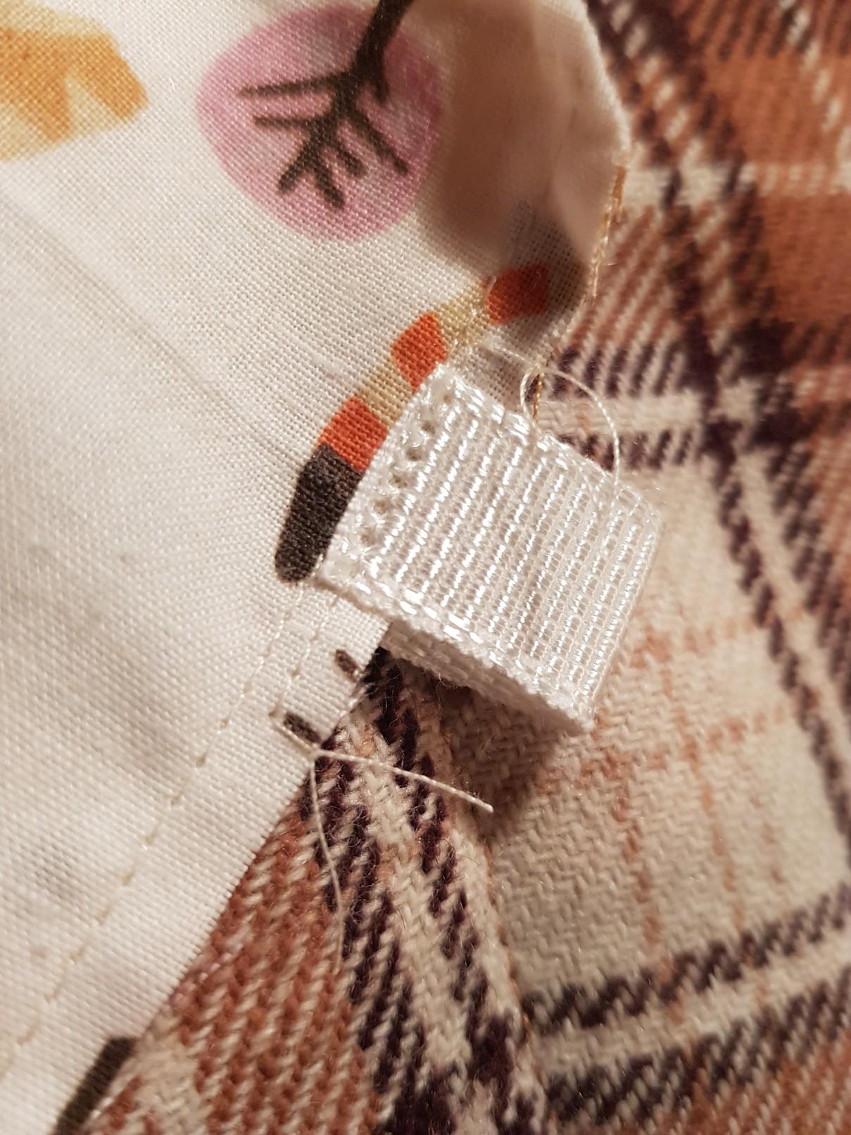 drawstring bag one layer attach loop