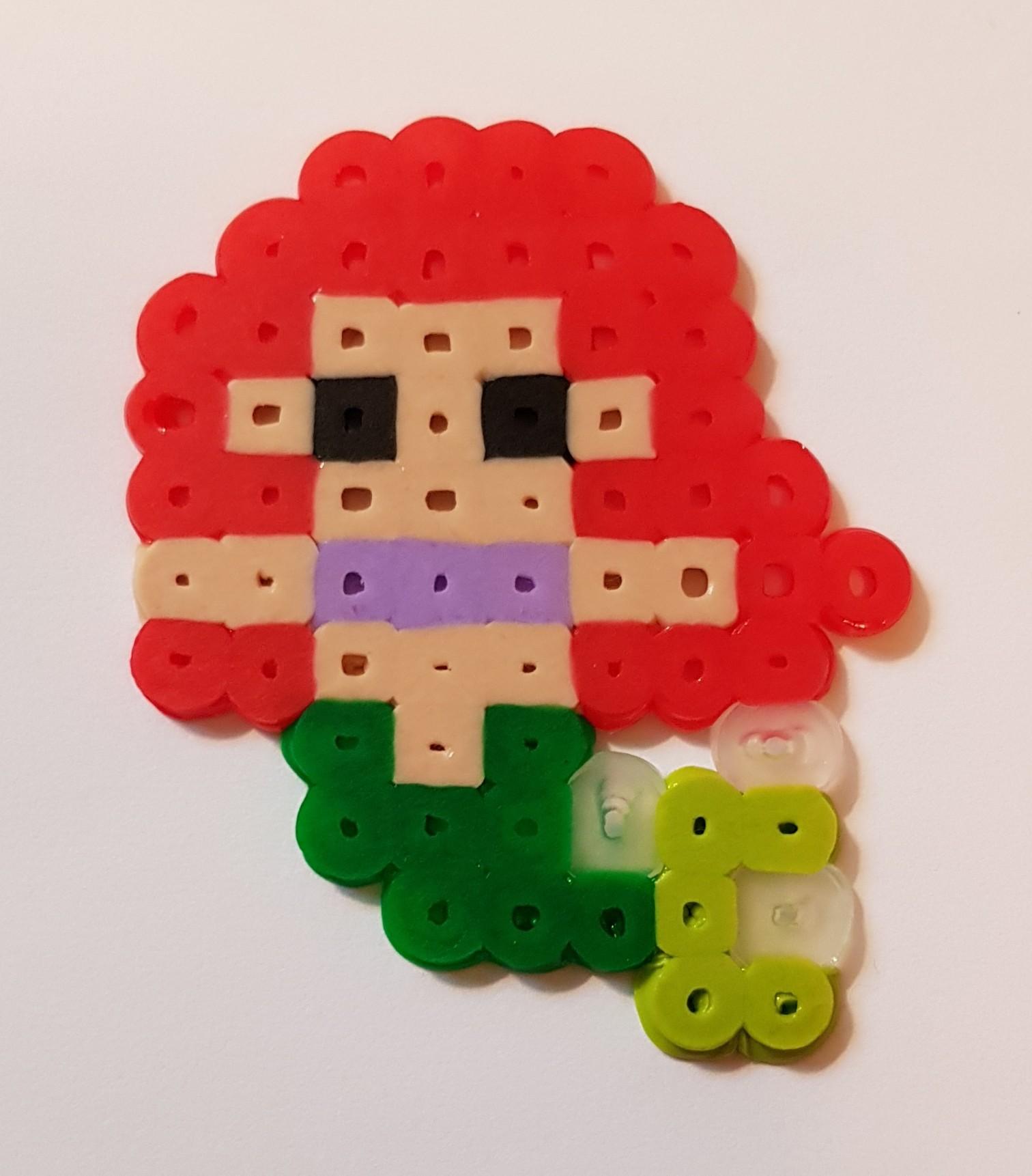 hama beads disney princess ariel
