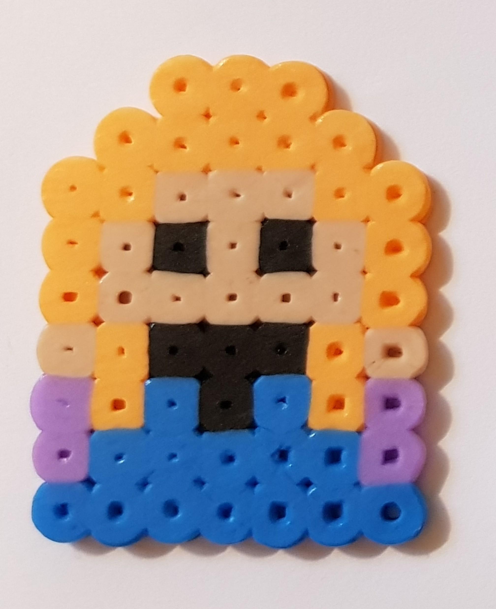hama beads disney princess frozen anna 2