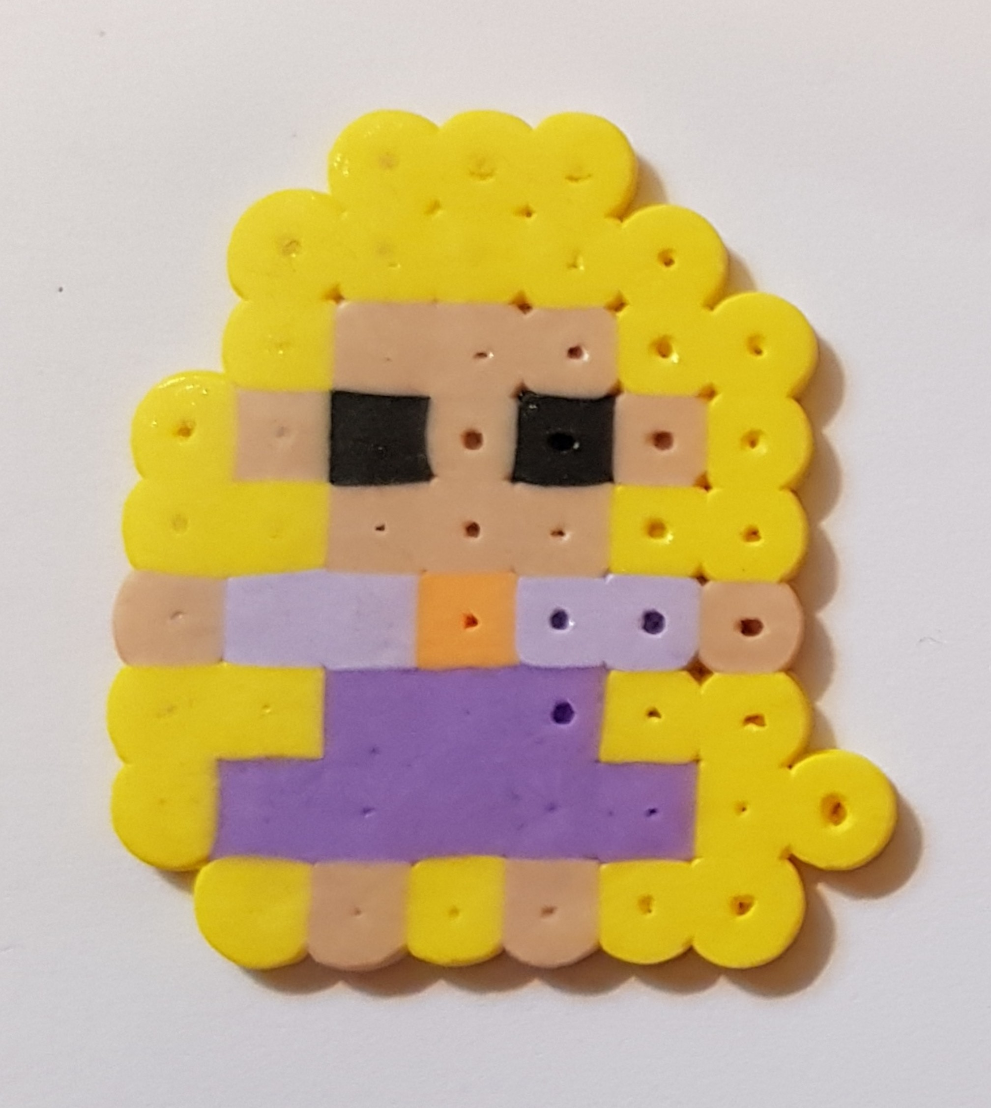 hama beads disney princess rapunzel 2